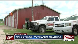 City temporarily shuts down Spavinaw fire department