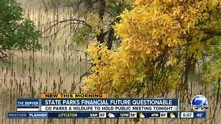 Colorado Parks and Wildlife working to avoid budget shortfalls; public meeting being held - Video