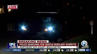 3 people in custody after Boca Raton vehicle break-ins - Video