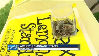 Avery's lemonade stand - Video