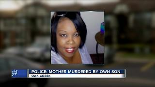'Why would you kill mom?': Family grieves mother murdered by son - Video