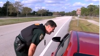 St. Lucie County drivers get pulled over, handed reward for driving safely - Video