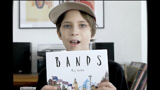"""Bands by Jude"" alphabet book made by two young minds"