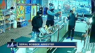 SE Wisconsin serial robber suspect in custody - Video