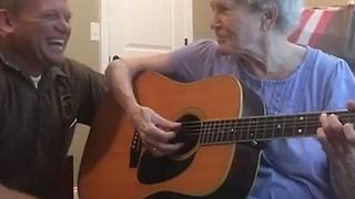 Son Connects With Mother With Alzheimer's Through Music - Video