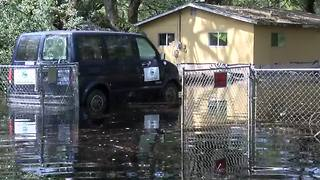 Withlacoochee River flooding forces evacuations | Digital Short - Video