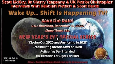 12.31.20 1st Encounter W/ Legendary Vacc Fighter Dr Sherry Tenpenny On Wake Up Shift Is Happening TV