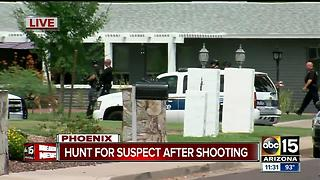 Police involved in shooting in Phoenix - Video