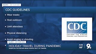Holiday travel in a pandemic