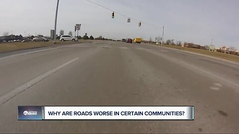 Why are roads worse in certain communities?