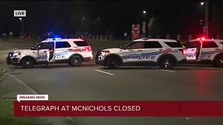 Telegraph at McNichols closed for police situation