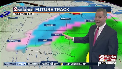 Sunny, Cool Tuesday afternoon forecast