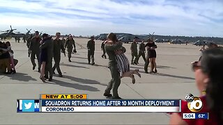 Squadron returns home after 10 month deployment