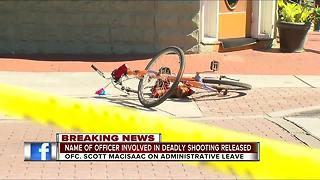 Name of officer involved in deadly shooting released