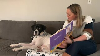 """The 7 Eyewitness News team reads """"Say Something"""" by Peter H. Reynolds"""