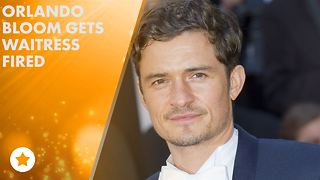 Orlando Bloom apologizes to waitress after sex scandal - Video