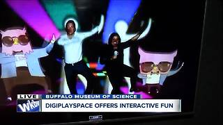 Pop and Lock at Buffalo Museum of Science DigiPlaySpace - Video