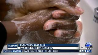 Fighting the flu: Washing your hands is key - Video