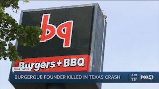 Burger Q founder killed in crash