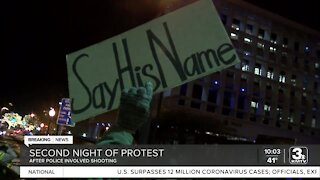 Protests held in Omaha over Kenneth Jones death