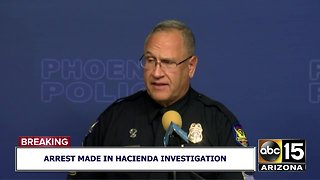 Press conference on Hacienda Healthcare assault arrest