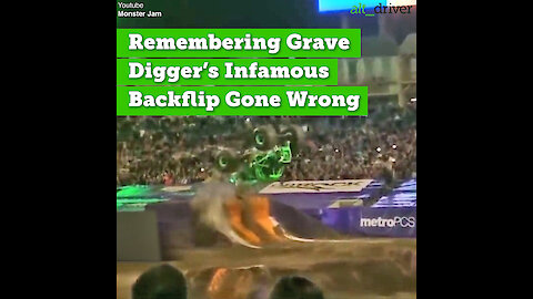 Remembering Grave Digger's Infamous Backflip Gone Wrong