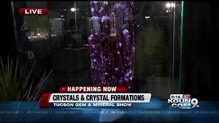 Tucson Gem and Mineral Show opens today - Video