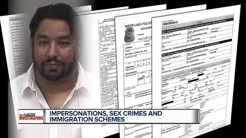 Man accused in immigration fake out has lengthy criminal history
