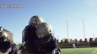 New football equipment aims to reduce concussions - Video