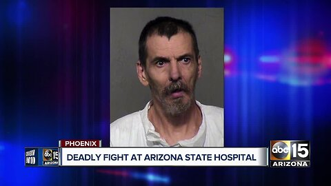 Fight turns deadly at state mental hospital