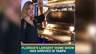 Florida's Largest Home Show arrives in Tampa Bay - Video