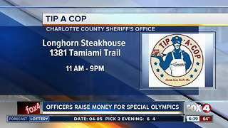 Tip a Cop event in Port Charlotte - Video