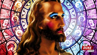 Ep. 314 – Sunday School Promotes Transgender Jesus With Makeup & Breasts