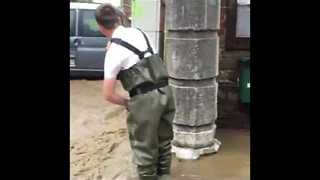 Major Floods Reported in Eastern Belgium - Video