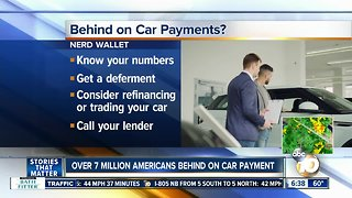 Report shows over 7M Americans behind on auto payments - Video