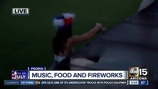 Peoria celebrating 4th of July with all-american festival - Video
