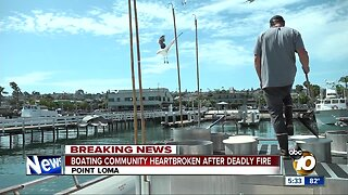 San Diego boating community heartbroken after deadly fire