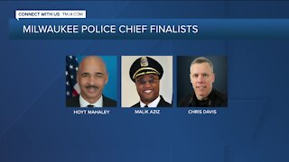 3 finalists for Milwaukee's top cop announced