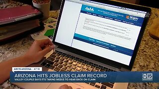 Arizona hits jobless claim record
