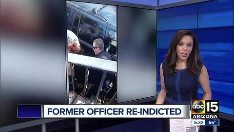 Former Flagstaff officer re-indicted