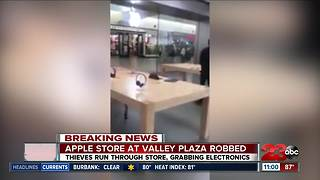 Apple Store at Valley Plaza Robbed - Video