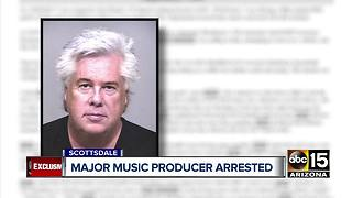 Prominent music producer accused of domestic assault - Video
