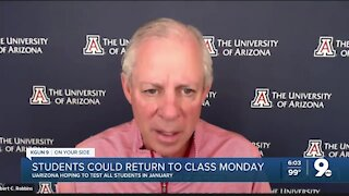 UArizona plans to resume smaller in-person classes next week