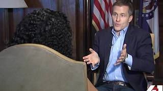 EXCLUSIVE: Eric Greitens talks budget deficit - Video