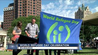 Local org hosts World Refugee Day celebration - Video