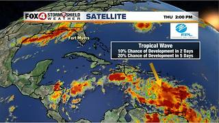 Strong Atlantic Tropical Wave Likely To Develop - Video