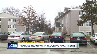Families relocated after repeat flooding at Elyria apartments