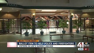 Ballot item to help police and firefighters