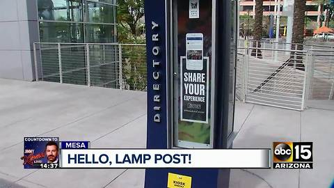 Street object texting project underway in Mesa