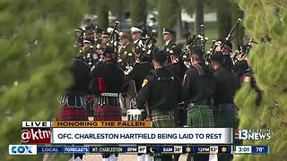LVMPD Officer Charleston Hartfield's funeral coverage - Video
